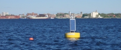 Muskegon Lake buoy observatory